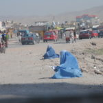 Straßenrand in Afghanistan